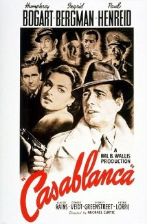 Casablanca move poster