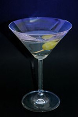 Picture of Vesper Martini coctail