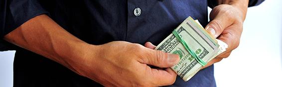 bankroll in hand