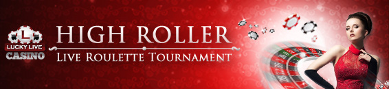 High roller live roulette tournament