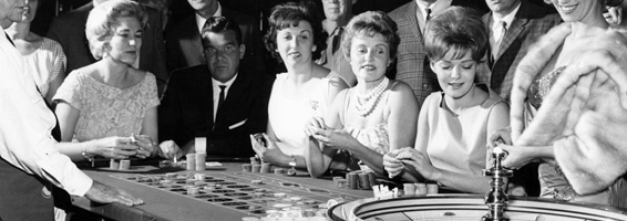 old-time roulette players casino entertainment